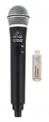 Micro sem fio de mao + Receptor Behringer ULM300USB - USB - UHF