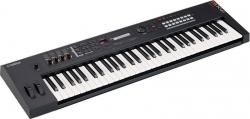 Teclado Yamaha MX61 V2 - Sintetizador - 61 teclas - 2 USB + MIDI - em preto ou azul