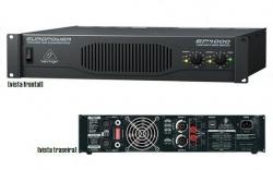 Amplificador Behringer EP4000 Europower - 4.000W