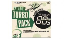 Coleccao de 10 CDG's Karaoke Turbo Pack - 192 musicas estrangeiras - 5 a escolha