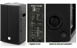 Monitor-Coluna The Box Pro Achat 112 M - 1.400W - 12 polegadas