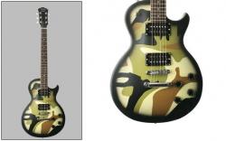 Guitarra Jack and Danny L 80 Matt Camouflage