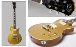 Guitarra Jack and Danny LSC GT Gold Top