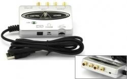 Interface de Audio Behringer U-Control UCA 202 - USB