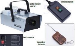 Maquina de Fumo LightmaXX Platinum Fog 1200 - 1.000W - analogica - comando a distancia