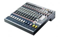 Mesa de Mistura Soundcraft EFX 8 - 8 vias mono + 2 vias stereo + Efeitos