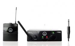 Transmissor + Receptor AKG WMS 40 Mini Instrument ISM1 - para guitarra ou baixo
