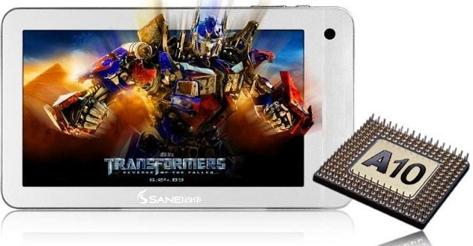 Sanei N91 Android PC Tablet tansformers