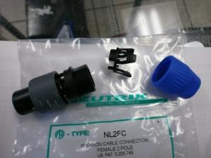 NL2FC Speakon connector 2 pole New
