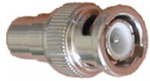 BNC Male  Connector to Female RCA Jack  Zinc Alloy