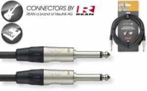 STAGG NGC3R 10FT N-Series Instrument Cable - Phone Plug / Phone Plug