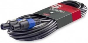 STAGG SSP10SS15 10 mtr/33 ft.-16GA Standard Speaker cable SPK plug/SPK plug