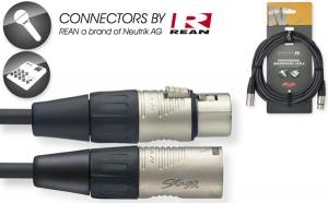 STAGG NMC6R N-Series Microphone Cable - XLR M / XLR F