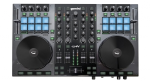 GEMINI GV4 4-CHANNEL VIRTUAL DJ CONTROLLER