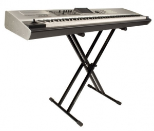 Ultimate Support IQ-2000 IQ Series® X-style Keyboard Stand New