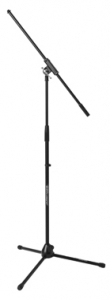 JS-MCFB100 JamStands Series Tripod Mic Stand with Fixed-Length Boom NEW