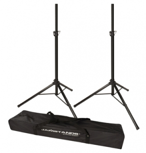 JS-TS50-2  JamStands® Series Pair of Tripod Speaker Stand with FREE NEW !
