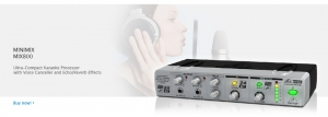 MINIMIX MIX800 Ultra-Compact Karaoke Processor with Voice Canceller and Echo/Reverb Effects