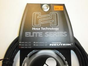 HOSA TECHNOLOGY ELITE SERIES EMIC-010 10FT