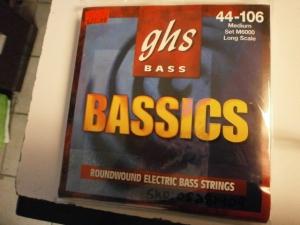 GHS BASS 44-106 MEDIUM SET M6000 LONG SCALE