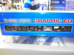 BBEsound inc. 15 BAND STEREO GRAPHIC EQUALIZER
