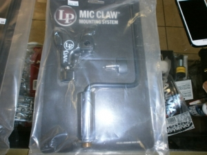 MICROPHONE CLAW MOUNTING SYSTEM