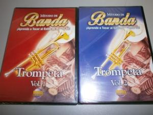 METODO DE BANDA APRENDE TOCAR AL ESTILLO DE BANDA YA! TROMPETA VOL.1 o VOL.2 choice