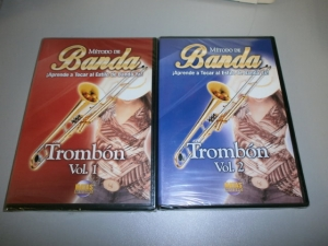 METODO DE BANDA APRENDE TOCAR AL ESTILLO DE BANDA YA! TROMBON VOL.1 o VOL.2 Choice