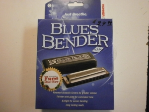 BLUES BENDER HARMONICA BY HOHNER