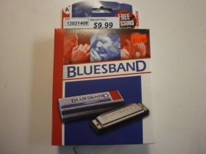 BLUESBAND KEY OF A BY HOHNER