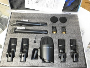 STAGG 7 PC DRUM MICROPHONE SET DMS5700H