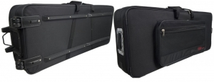 Keyboard soft case  w/ wheels Stagg KTC-115 size 45x20x8 fitsKorg  M1 and PSR keyboards NEW