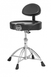 MAPEX T775 SADDLE TOP THRONE W/ BACK REST AND 4 LEGS DOUBLE BRACED