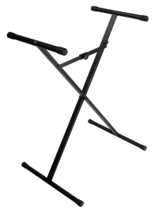 JS-XS300  JamStands® Series Single Brace X-Style Keyboard Stand (Unassembled)