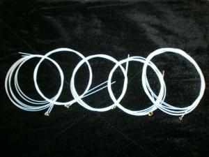 Bajo Quinto Color white-10 Strings-10 Cuerdas Blancas GLOW w/UV light / U.S.A Made