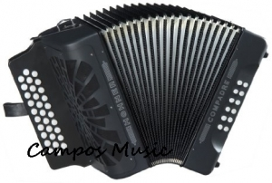 Hohner Compadre Accordion GCF 31 Button NEW!! ( FREE GIG BAG ) WARRANTY SEE DETAILS SKU 0318201806