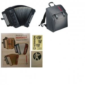 Hohner Compadre Accordion ADG 31 Button NEW!! ( FREE GIG BAG ) WARRANTY SEE DETAILS SKU 1102201906