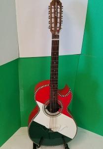 Jesus Sevillano Bajo Quinto w/EQ Custom made in Mexico #0803201504 (USED)