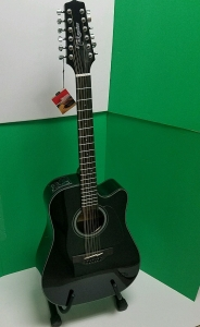 Takamine 12 String GD30CE-12BLACK (New) SK: 07141602 FREE SHIPPING !!!!!