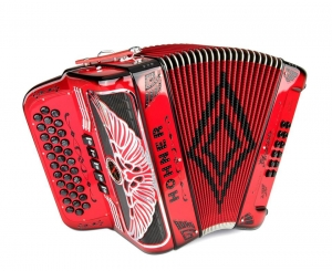 Rey Aguila FBE Binci Reeds  Chrome Grille  5swt. - Ruby Red