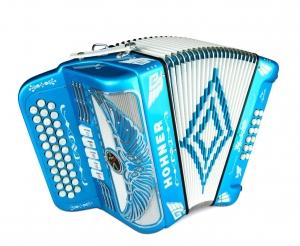 Rey Aguila - Chrome Grille - Binci Reeds FBE 5Swt - Blue Metalic