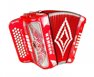 Rey Aguila - Chrome Grille - Binci Reeds FBE 5 swt - Red Metalic
