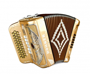 Rey Aguila - Chrome Grille - Binci Reeds FBE 5swt  - Gold Chrome