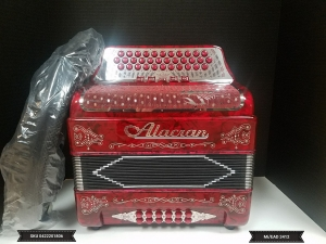 Alacran EAD/MI 5 switch 34 Button  Accordion w/ case NUEVESITA