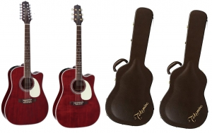Takamine JJ325SRC 12 string and JJ325SRC 6 string pack new!