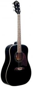 Oscar Schmidt OG2-B A Dreadnought 6-string RH Acoustic Guitar-Black