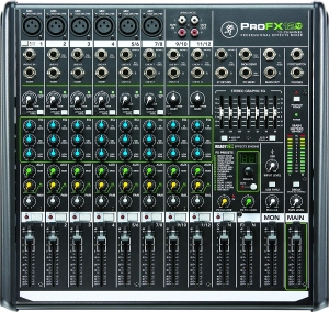 Mackie ProFX2v2 12-channel Mixer with USB and Effects