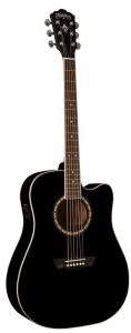 Washburn WD10CE Dreadnaught Acoustic/Electric Guitar 6 STRING