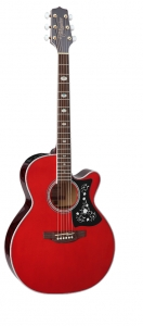 Takamine GN75CE-WR Wine Red NEX Cutaway Body Acoustic Electric Solid Top Guitar