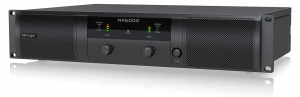 Behringer NX6000 Power Amplifier 2-channel Power Amplifier, 3,000W Peak/ch at 4 ohms, with Stereo Crossover,